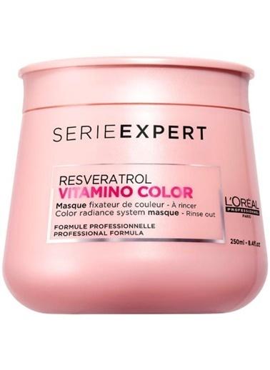 L'oreal Professionnel Loreal Serie Expert Vitamino Color Masgue Boyalı Saçlar İçin 250 ml Renksiz